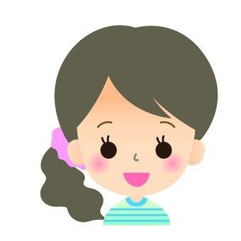 Female face icon