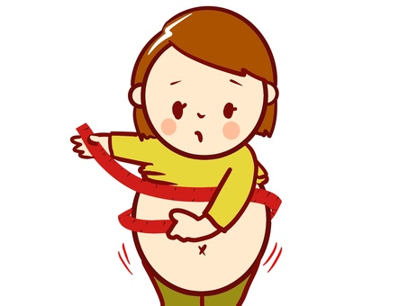 chacha obese abdominal circumference measurement