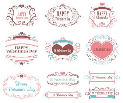 Valentine's frame 15