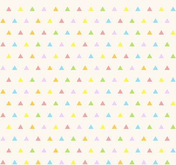Colorful pattern - triangle S