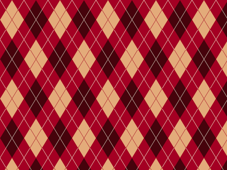 Argyle ● Garnet × Brown