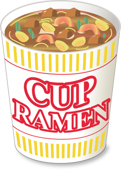 Cup noodles soy sauce _ No cover