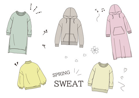 Sweat fashion set