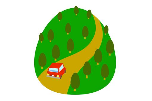 Mountain path drive