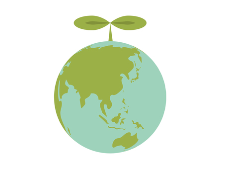 Eco image earth