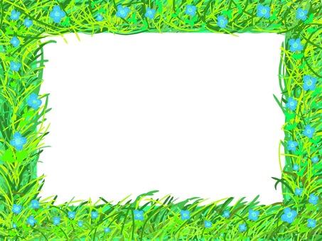 Wild grass frame (Ouninunoguri edition)