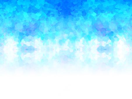 閃爍10(藍色漸變)