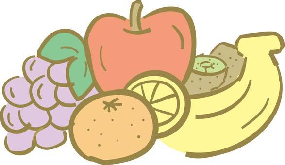 과일, 과일, 과일