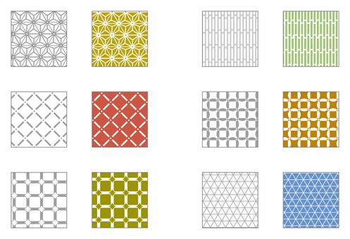 Swatch pattern series Japanese patternishish