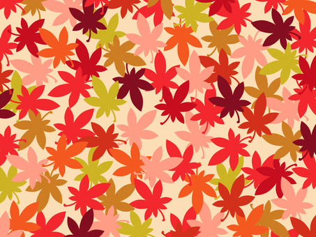 Background - red leaves 02