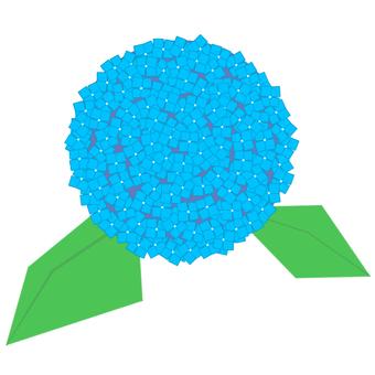 Hydrangea (blue)