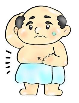 一個胖胖的老頭