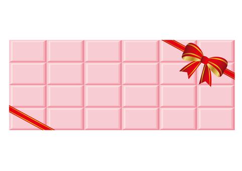 Strawberry chocolate background Valenta