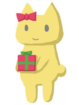 Neko禮物黃色