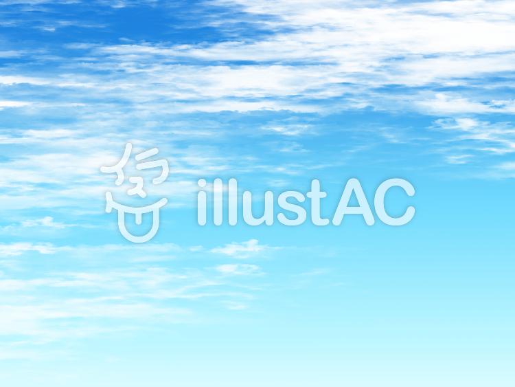 背景 青空のイラスト