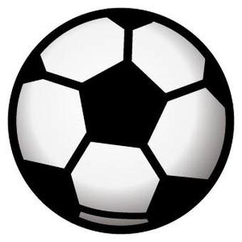 足球與陰影