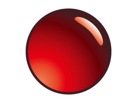 Circle _ red _ button material