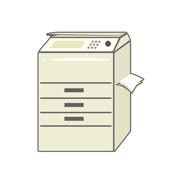 Copy machine White