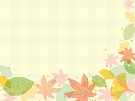 Fall check frame