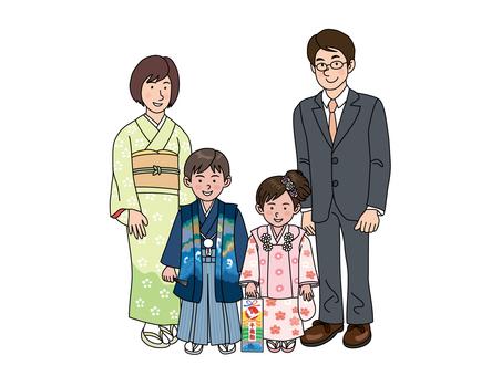 Shichigosan family