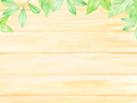 Leaf and tree board frame