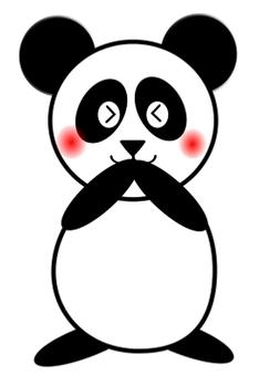 It's embarrassing! Panda