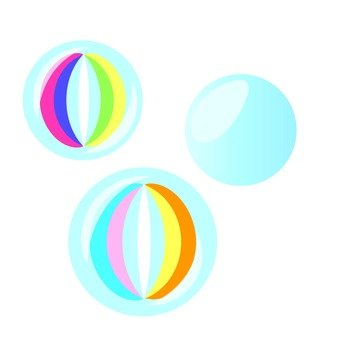 Marbles with patterns 4