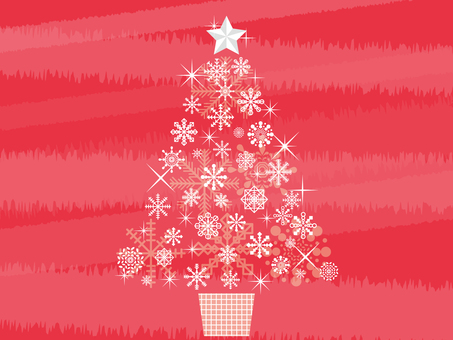 눈송이 크리스마스 트리 3