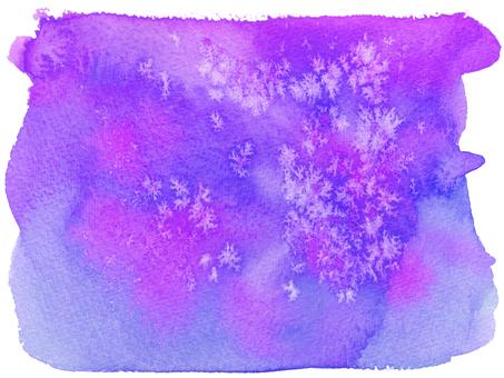 수채화 배경 -21- 보라색