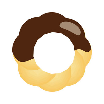 Shoe donut