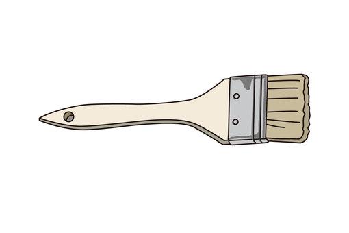 Illustration of a brush