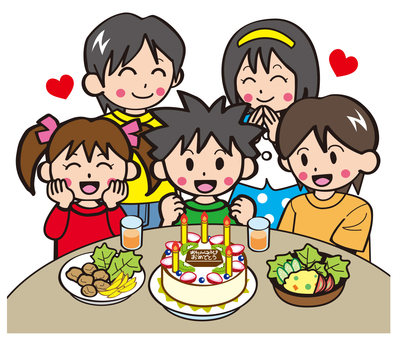 Birthday party with your friends