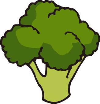 Vegetable (broccoli · 1 piece)