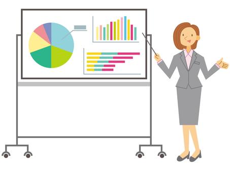 Presentation board _ female