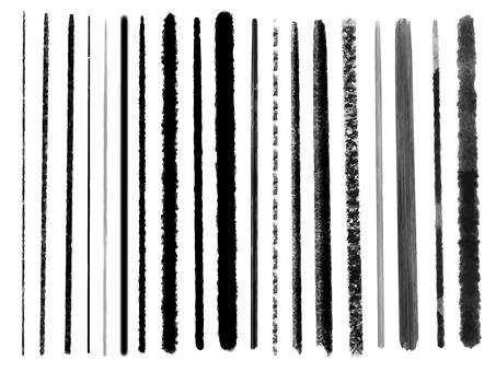 Brush line set
