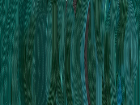 Abstract green material