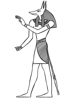 Egypt Illustration Anubis-8