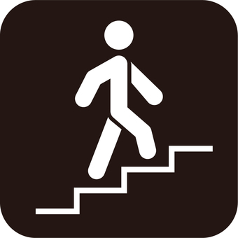 Stairs_icon_black