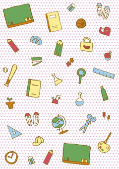 Background pattern school