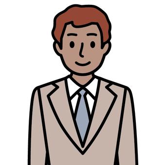 Men wearing a suit (international)