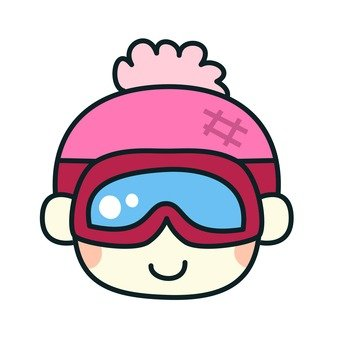 Goggles wearing