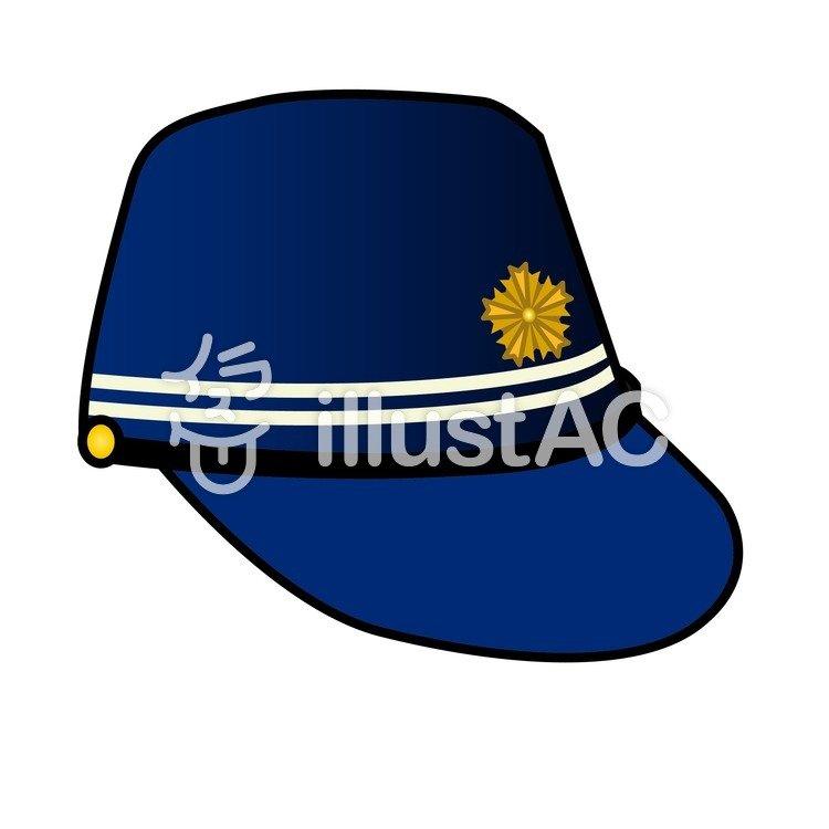 警察官 帽子イラスト No 212376無料イラストならイラストac