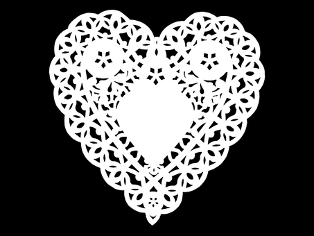 Lace Paper Heart