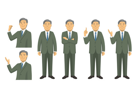 Businessman - set 8