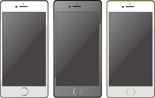 iphone illustration set