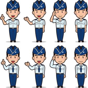 Self-Defense Officer 2 (Men's Air Self-Defense Forces)