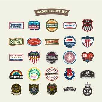Badge illustration