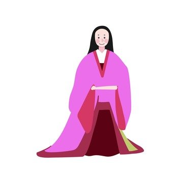 Aristocratic women of the Heian period (5)