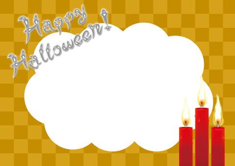 【Halloween Material】 Transparent PNG Frame 01
