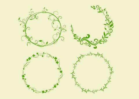 Plant circle frame
